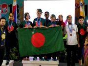 আন্তর্জাতিক রোবট অলিম্পিয়াডে স্বর্ণ জিতলো বাংলাদেশ