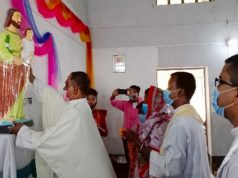 ধর্মহাটা গির্জায় শ্রমিক সাধু যোসেফের পর্ব উদযাপন